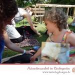 Pebbys zweiter Besuchsdienst im Kindergarten