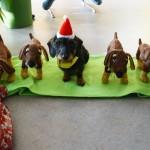 Weihnachten in der Schule: Weihnachtszwerg Pebby brachte viele kleine Pebbys mit
